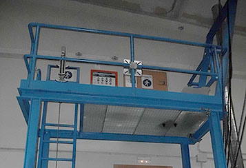 Simulador de plataformas elevadoras