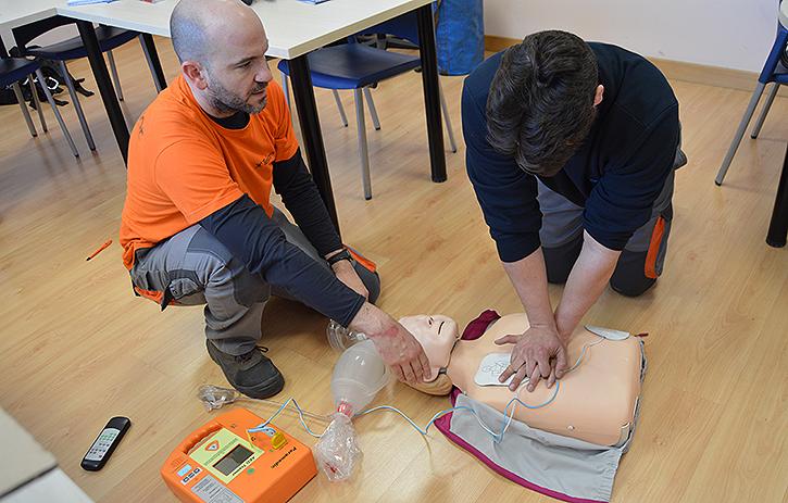 Prácticas y cursos de Primeros auxilios