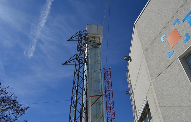 Aerogenerador de 23 metros
