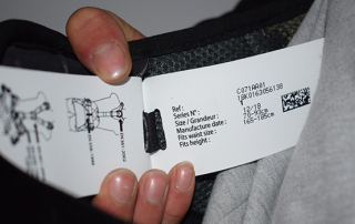 Example of label